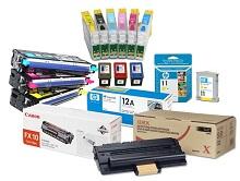 Расходные материалы для печатающей техники: картриджи и запчасти для принтеров, МФУ, копиров.